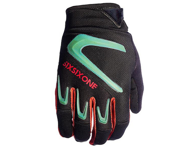 SixSixOne Rage Gloves Herre teal